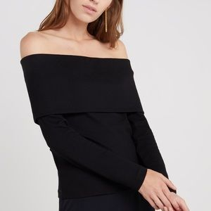 Club Monaco Tabbie Off-the-Shoulder Top, NWT